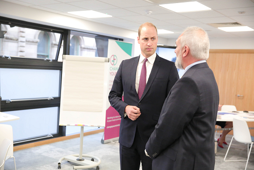 HRH with Peter McBride